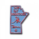 Canadian Province Magnet Manitoba with Capital