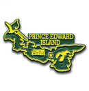 Canadian Province Magnet Prince Edward Island with Capital