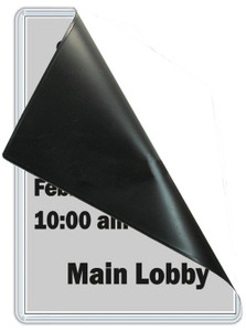 8.5 x 11 Magnetic Sign Holder