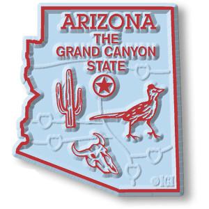 Arizona State Magnet