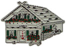 Alpine House, Europe souvenir magnet