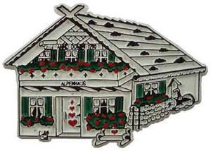 Alpine House, Europe souvenir magnet