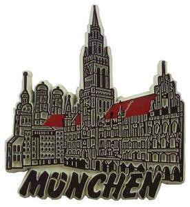 Muenchen Germany, Europe souvenir magnet