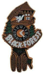 Cuckoo Clock Germany, Europe souvenir magnet