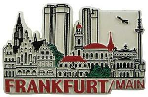 Frankfurt Germany, Europe souvenir magnet