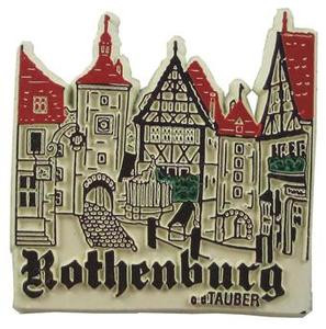 Rothenburg o.d. Tauber Germany, Europe souvenir magnet