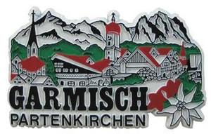 Garmisch-Partenkirchen Germany, Europe souvenir magnet