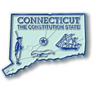 State Magnet -  Connecticut