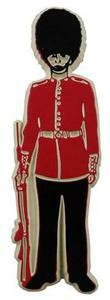 Buckingham Palace Guardsman, London souvenir magnet