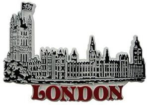 House of Parliament, London, Europe souvenir magnet