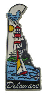 Souvenir state magnet – Delaware