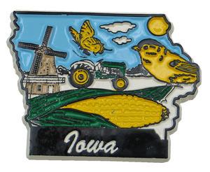 Souvenir state magnet – Iowa