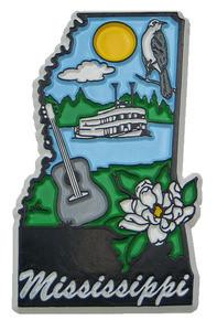 Souvenir state magnet – Mississippi