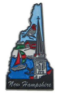 Souvenir state magnet – New Hampshire