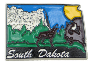 Souvenir state magnet – South Dakota