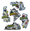 DE, MD, NJ, VA, DC map state magnets