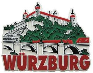 Wuerzburg Germany, Europe souvenir magnet