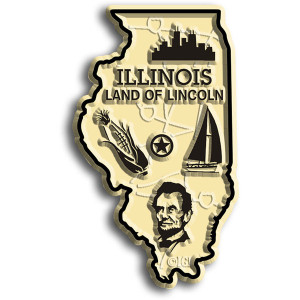 State Magnet -  Illinois