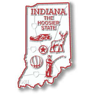 State Magnet -  Indiana