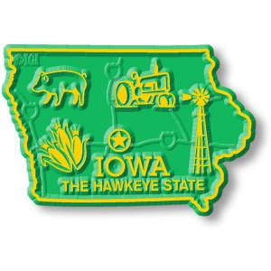 State Magnet -  Iowa