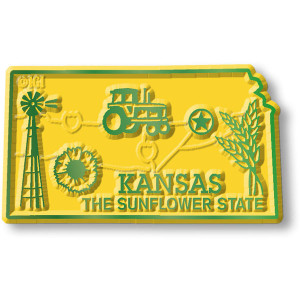 State Magnet -  Kansas