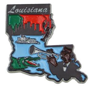 Souvenir state magnet – Louisiana