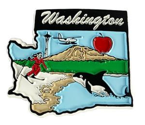 Souvenir State Magnet – Washington