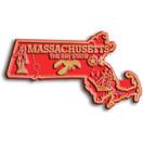State Magnet -  Massachusetts