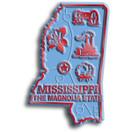 State Magnet -  Mississippi