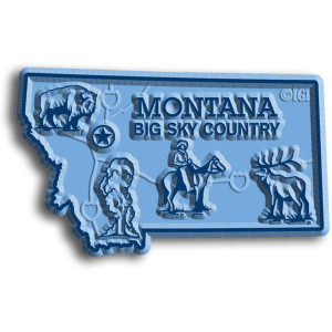 State Magnet -  Montana