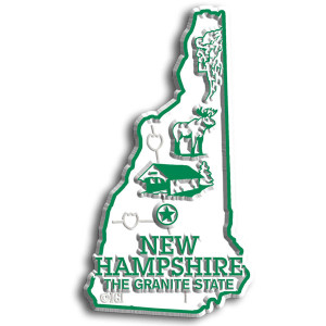 State Magnet -  New Hampshire