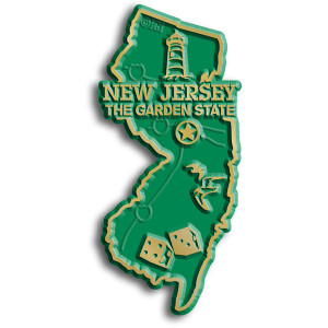 State Magnet -  New Jersey
