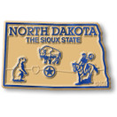 State Magnet -  North Dakota