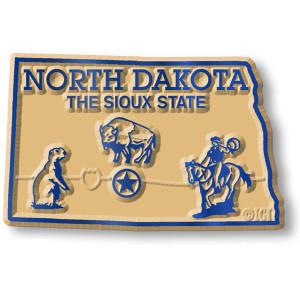 State Magnet -  North Dakota