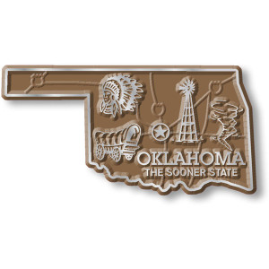 State Magnet -  Oklahoma