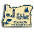 State Magnet -  Oregon