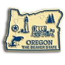 State Magnet -  Oregon