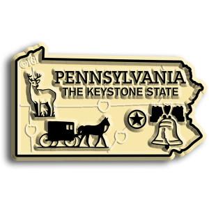 State Magnet -  Pennsylvania