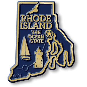 State Magnet -  Rhode Island