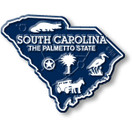 State Magnet -  South Carolina