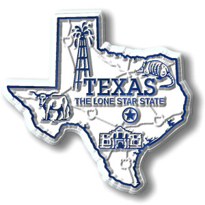 State Magnet -  Texas