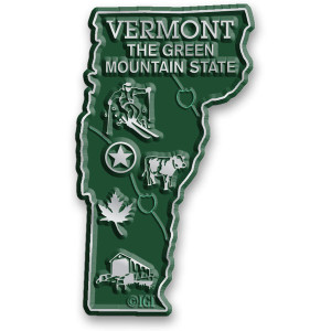 State Magnet -  Vermont