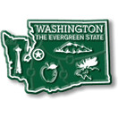 State Magnet -  Washington