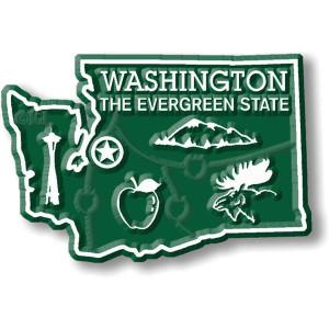 State Magnet -  Washington