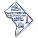 State Magnet -  Washington DC