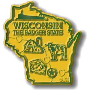 State Magnet -  Wisconsin