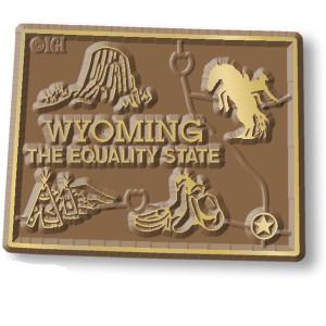 State Magnet -  Wyoming