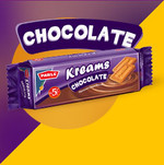 Parle Kreams Chocolat Cookie 80G