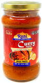 Rani Curry Paste HOT (Spice Paste), 10.5oz (300g) Glass Jar ~ No Colors | All Natural NON-GMO | Vegan | Gluten Free | Indian Origin
