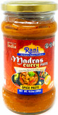 Rani Madras Curry Cooking Spice Paste 10oz (300g) Glass Jar ~ No Colors | All Natural | NON-GMO | Vegan | Gluten Free | Indian Origin